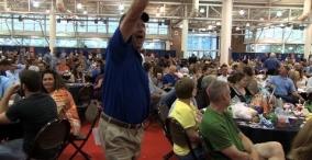 Corndog Kickoff   Iowa State Fair 2014